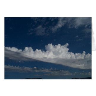 Cartão Nuvens