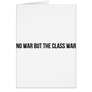 Cartão NWBTCW - Política socialista comunista da