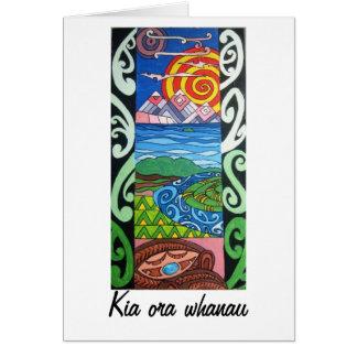 Cartão - NZ - minha fatia de céu