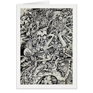 Cartão O adepto, ou, uma transfiguração Freakish