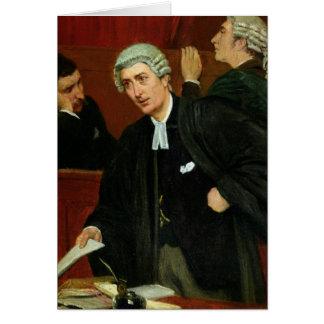 Cartão O advogado