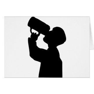 Cartão o álcool o mais oktoberfest do boozer