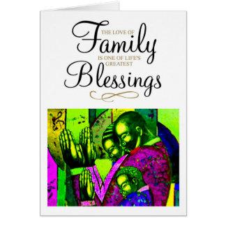 Cartão O amor da família