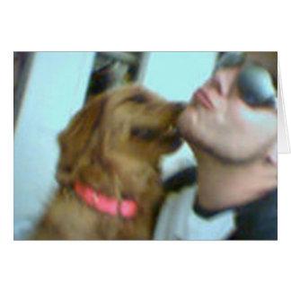 Cartão O amor de filhote de cachorro!