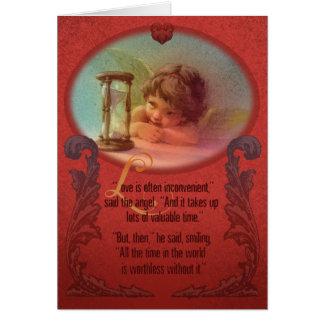 Cartão O amor vale o esforço!