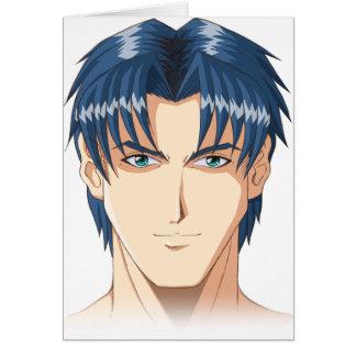 Cartão O Anime e Manga enfrentam
