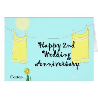 Cartão ò Aniversário de casamento