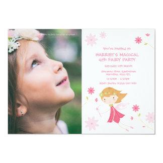 Cartão O aniversário feericamente mágico lunático convida
