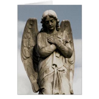Cartão O anjo de Melanie
