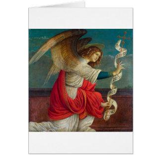 Cartão O anjo Gabriel - Gaudenzio Ferrari