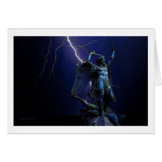 Cartão O anjo Michel
