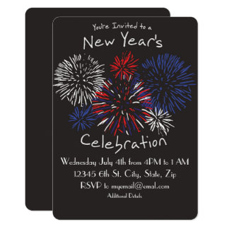 Cartão O ano novo da celebração