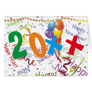 Cartão O ano novo da celebração 4