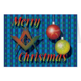 Cartão O Appendants no Natal
