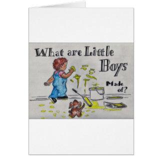 Cartão O artista