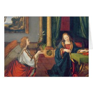 Cartão O aviso, 1506