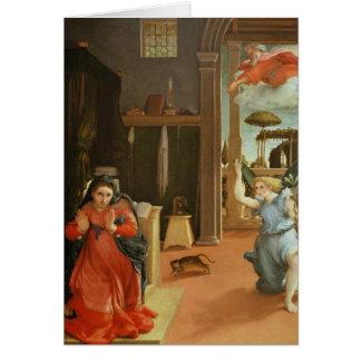 Cartão O aviso, c.1534-35