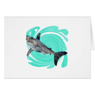 Cartão O azul profundo