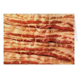 Cartão o bacon é o melhor!