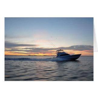 Cartão O barco sonha Notecards