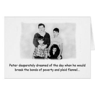 Cartão O Bday de Pete