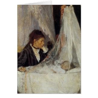 Cartão O berço por Berthe Morisot