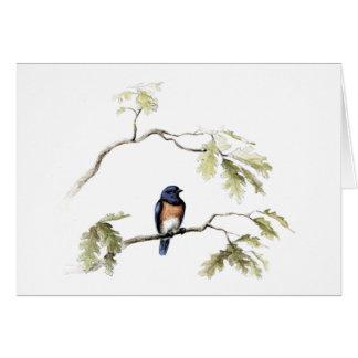 Cartão O Bluebird da felicidade