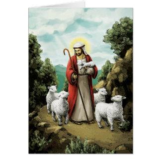 Cartão O bom pastor