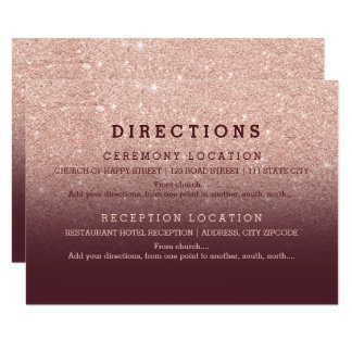 Cartão O brilho cor-de-rosa moderno Borgonha do ouro