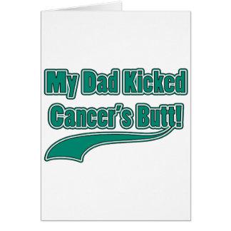 Cartão O bumbum do meu cancer retrocedido pai!