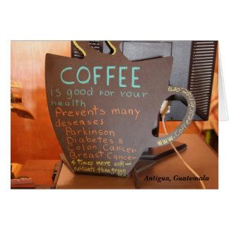 Cartão O café impede muitas doenças…