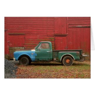 Cartão O caminhão do vovô