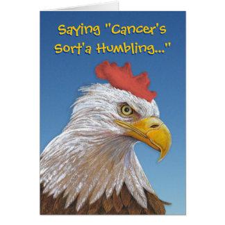 Cartão O cancer deia o riso