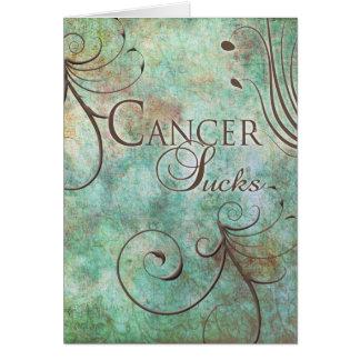 Cartão O cancer suga