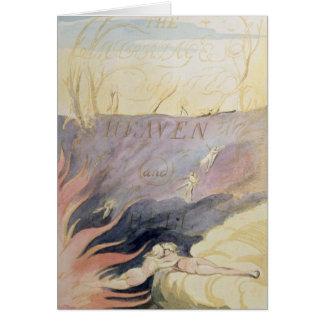 Cartão O casamento do céu e do inferno