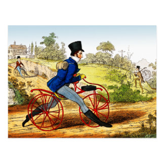 Cartão O cavalo do passatempo Protótipo da bic Cartao Postal