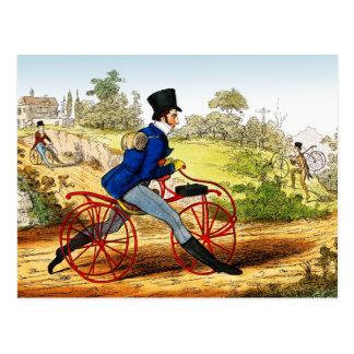 Cartão:  O cavalo do passatempo:  Protótipo da Cartao Postal