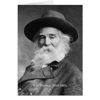 Cartão O ❝Celebrate eu mesmo de Whitman, e canta o poema