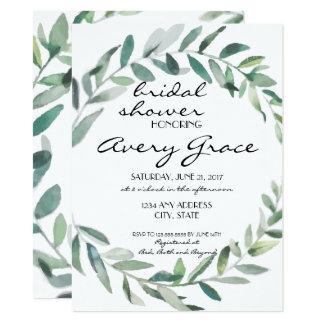 Cartão O chá de panela convida - o casamento das