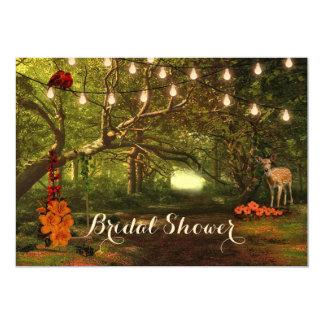 Cartão O chá de panela Enchanted da luz da corda da