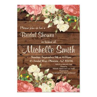 Cartão O chá de panela rústico convida, floresce, floral,