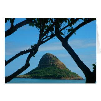 Cartão O chapéu do Chinaman, Oahu