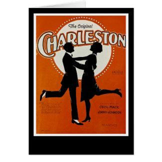 Cartão O Charleston original