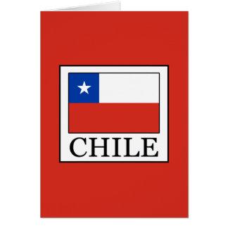 Cartão O Chile