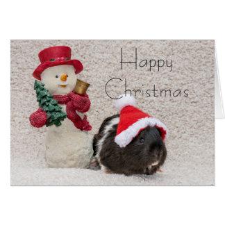 Cartão O Coco diz o Natal feliz