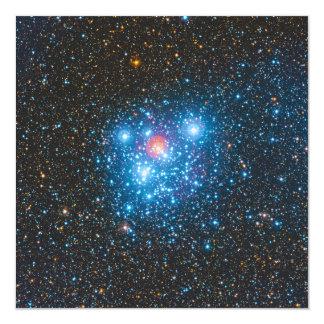 Cartão O conjunto de estrela NGC de Crucis do Kappa da