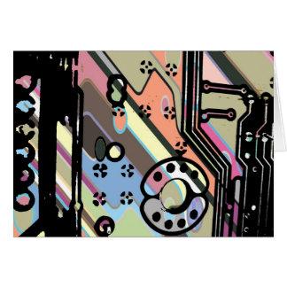 Cartão O conselho de circuito do computador