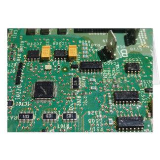 Cartão O conselho de circuito impresso