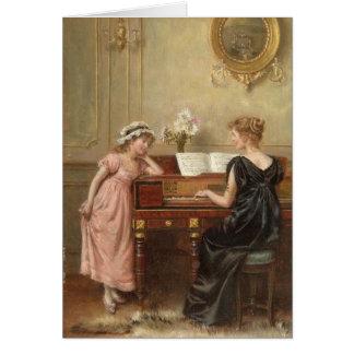 Cartão O considerando, por George Goodwin Kilburne