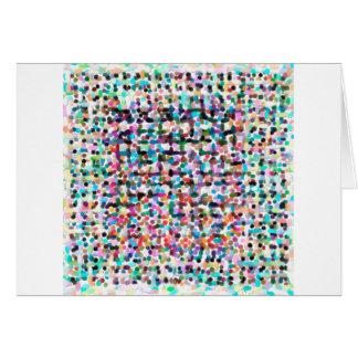 Cartão o contemporâneo abstrato não colore nenhum 35
